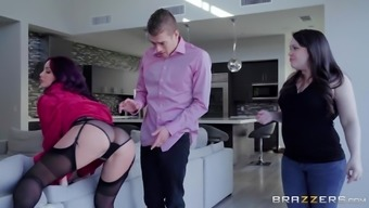 Monique Alexander has the capability f fucking her best friend's hubby with her mattress