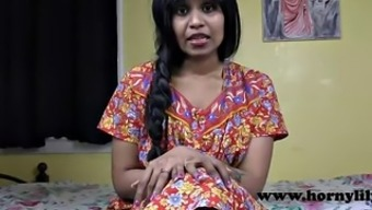Horny Lily Beautiful Indian Mother Role Make use of the