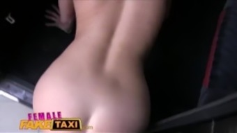 A woman Fake Taxi Initial brings body after arriving his junk in Eur pussy