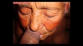 HelloGrannY Novice Latina Grandmas Slideshow