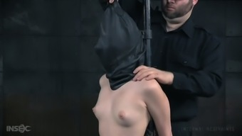 Beautiful ladies Aria Alexander is punished by one perverted hunk