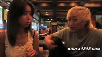 KOREA1818.COM - Horny Fluent Babe Outside