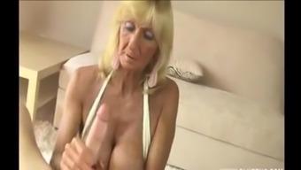 The united kingdom Granny major tits wanking major cock.m4v