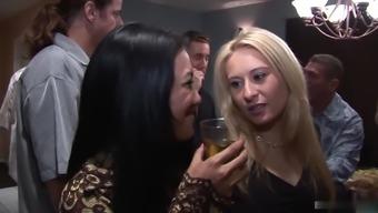 Cherub Sweetest, Chloe Morgan, Christina Agave and Lyla Lei are on a hardcore