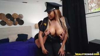 Moriah Erica is a policewoman along with massive boobs ready for a penis