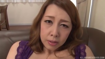 Kazama Yumi is a naughty MILF who exactly adores different sexual video games