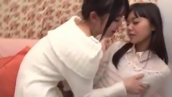 cute japanese people girl first time lesbian