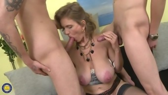 Naughty big tits mommys attract younger alpha the males