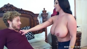 sheridan absolutely adore exposed her vast tits and make him persuade her nipples