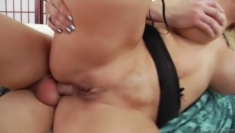 alura jenson getting her round ass drilled in ladle
