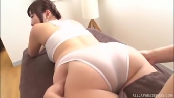 Oiled over Japanese people ladies lets a perverted masseur enjoy her entire body