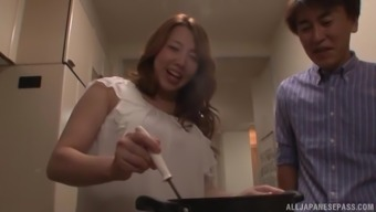 Kazama Yumi take pleasure in a promising sexual intercourse appointment by using a horny adult man