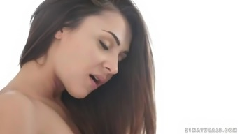 stunning hungarian bae alexis brill fucks a raise in appealing positions