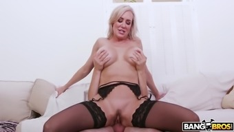 kenzie reeves caught her mom brandi absolutely adore cycling cock