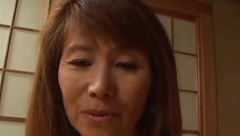 Skinny Mature Japanese people Enjoy Fuck