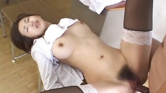 Mai Hanano Horny Japanese people coach fucked part5