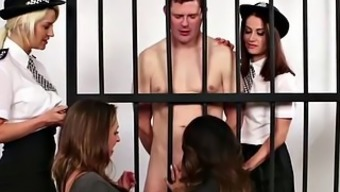 English man dom CFNM regulate babe humble prisoner