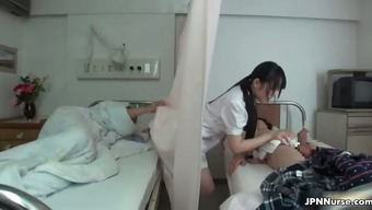 Japanese healthcare provider loves sucking a couple of part3