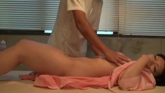 Japanese people Wifey Sex based Massage session