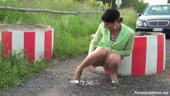 Naughty Celine Takes A Urinate And Stinks Major Complicated Dong