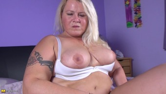 More aged bad fats Dutch ladies dildoing her brushed cherry up to the time when cumming