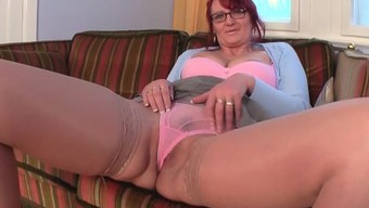 Old granny along with younger fucking craze