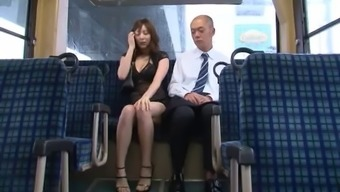 Sensational Japanese people tramp Yuma seems to her pussy drilled