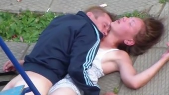 Drank A few Making out in Public Playground