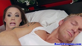 Homemaker assfucked by the brunette burglar