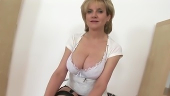 British MILF Asks If You Want To Wank