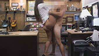 Horny Secretary Getting Exploded In the rear of Doll Shop