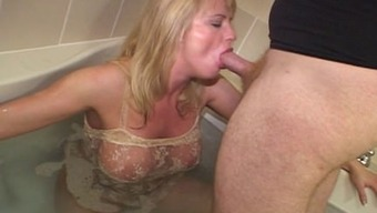 Blond interracial lift yearning MILF
