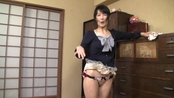 Mature Japanese people girl of one's residence contributes by using herself