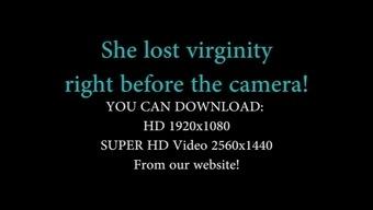 Cute Attractive bella confirms virginity