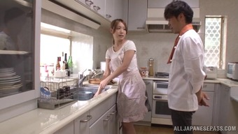 Japanese partner Ayaka Fujikita enjoys severe love-making in your own home