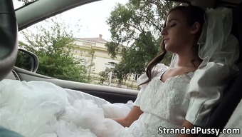 Fascinating bride to be Amirah gets pussy fucked