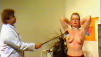 Classic online video of bold slave along with pierced nipples and pussy
