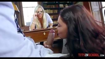 Wild Sluts at Trendy School