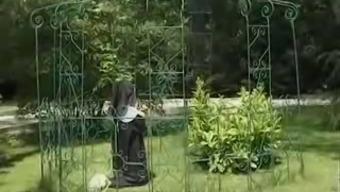 Nun's butt thrashing