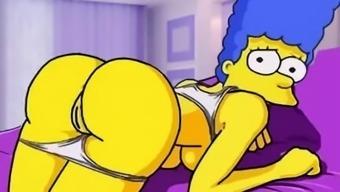 Simpsons porn animated parody