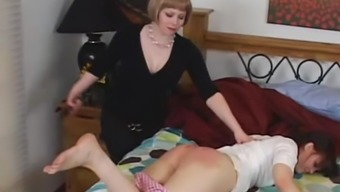 Spanked with Buckle 2