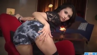 Sexy threesome porno performance along trimmed Maria Ozawa