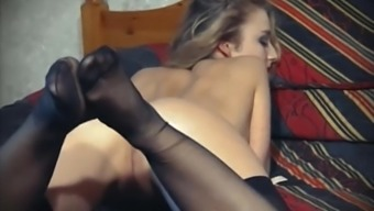 THE Screaming Event - old Uk stockings mock