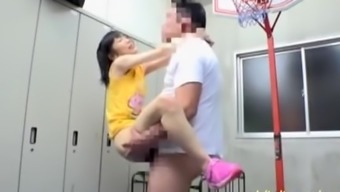Aya Miyazaki Jav Star Fucked In The Gym Changing Create space Located on the Base