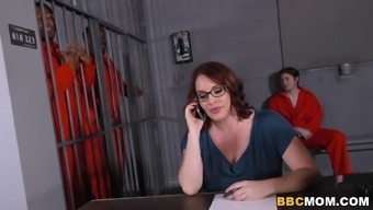 Busty Mum Maggie Green Normally takes A pair of BBCs within a Penitentiary