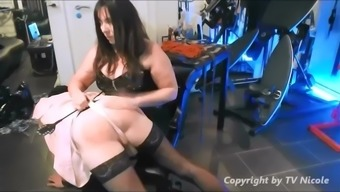 Female friend By Throw the book at her Whimp Slave Nicole