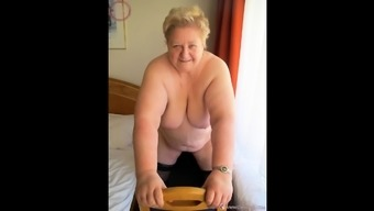 OmaGeiL Selfmade Granny BBW Photograph Compilation