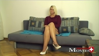 Emilia 20y - A youthful blonde youngster located on the porn question