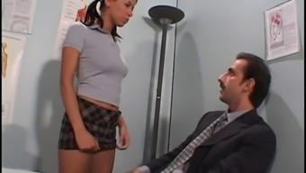 Prof fucking the sweet pupil