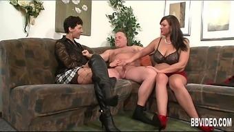 In german milfs fucking a horny dude